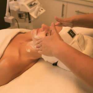 skin and facial services at Ombu Salon + Spa in Edmonds, Washington