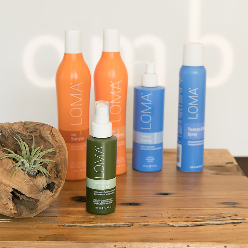 loma products are availabe at ombu salon + spa in edmonds, wa