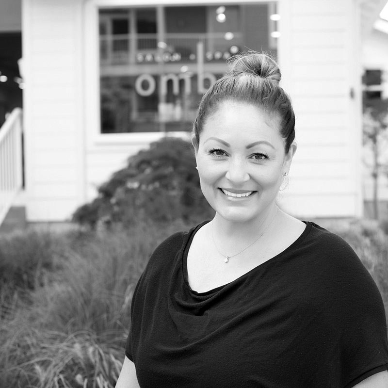 jill is an esthetician at ombu salon + spa in edmonds, wa
