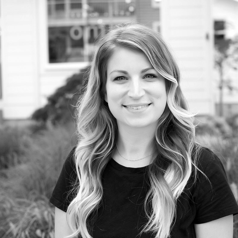 kari is a hair stylist at ombu salon + spa in Edmonds, WA