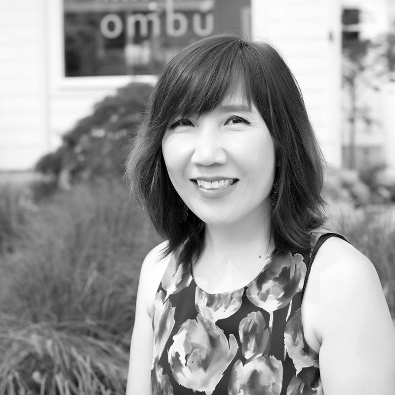 minwon is a hair stylist at ombu salon + spa in edmonds, wa